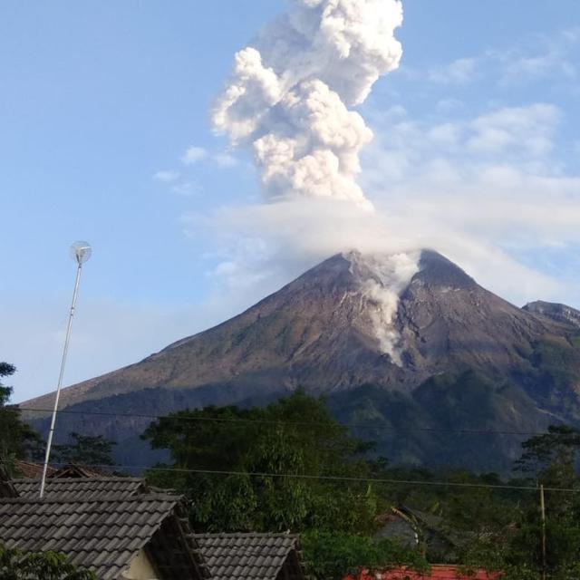 Berita Terbaru gunung Merapi menurut BPPTKG